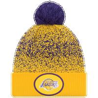 cheaper d9fac b0ecb New Era NBA On Court Pom Cuff Knit - Men s - Los Angeles Lakers - Yellow