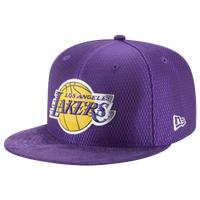 01e6965495a New Era NBA 59Fifty On Court Cap - Men s - Los Angeles Lakers - Purple
