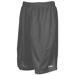 "Eastbay 9"" Basic Mesh Shorts - Men's - Charcoal Silver"