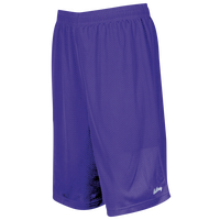 "Eastbay 9"" Basic Mesh Shorts - Men's - Purple / Purple"