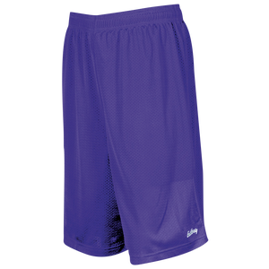 "Eastbay 9"" Basic Mesh Shorts - Men's - Purple"
