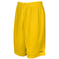 "Eastbay 9"" Basic Mesh Shorts - Men's - Gold / Gold"