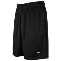 "Eastbay 8"" Basic Mesh Shorts - Women's - All Black / Black"