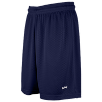 "Eastbay 8"" Basic Mesh Shorts - Women's - Navy / Navy"