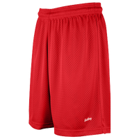 "Eastbay 8"" Basic Mesh Shorts - Women's - Red / Red"