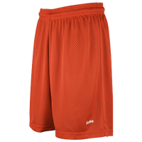 "Eastbay 8"" Basic Mesh Shorts - Women's - Orange / Orange"