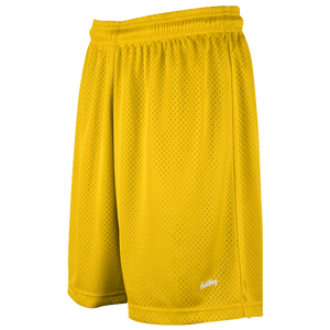 "Eastbay 8"" Basic Mesh Shorts - Women's - Gold"