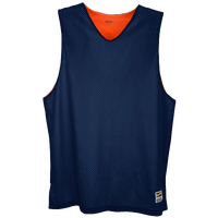 Eastbay Basic Reversible Mesh Tank - Men's - Navy / Orange