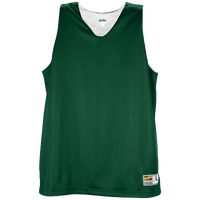 Eastbay Basic Reversible Mesh Tank - Women's - Dark Green / White
