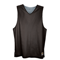 Eastbay Basic Reversible Mesh Tank - Boys' Grade School - Black / Silver