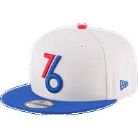 newest a4a84 a8429 New Era NBA 9Fifty Snapback Cap - Men s - Philadelphia 76ers - White   Blue