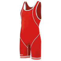 ASICS® Snap Down Wrestling Singlet - Men's - Red