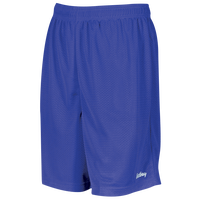 "Eastbay 8"" Basic Mesh Shorts - Boys' Grade School - Blue / Blue"