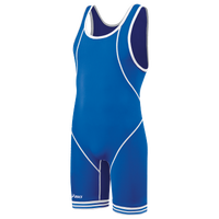 ASICS® Snap Down Wrestling Singlet - Men's - Blue