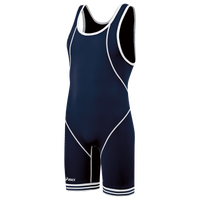 ASICS® Snap Down Wrestling Singlet - Men's - Navy