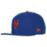 info for c259c eb523 New Era MLB 9Fifty Snapback Cap - Men s - New York Mets - Blue   Orange