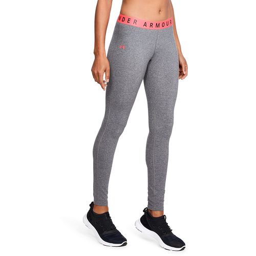 Under Armour Favorite Leggings - Women's Casual - Charcoal Light Heather/Brilliance 11710021