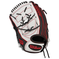 Wilson A2000 Superskin Fastpitch Glove - Women's - Black / White