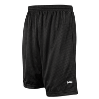 "Eastbay 9"" Basic Mesh Short with Pockets - Men's - All Black / Black"