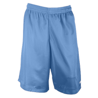 "Eastbay 11"" Basic Mesh Short with Pockets - Men's - Light Blue / Light Blue"