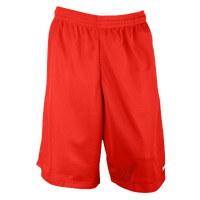 "Eastbay 11"" Basic Mesh Short with Pockets - Men's - Red / Red"