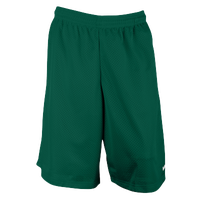 "Eastbay 11"" Basic Mesh Short with Pockets - Men's - Dark Green / Dark Green"