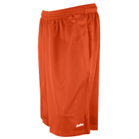 "Eastbay 11"" Basic Mesh Short with Pockets - Men's - Orange / Orange"