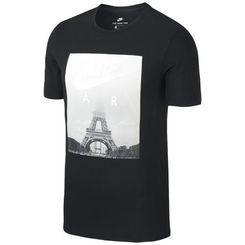 Paris Shirt Casual Air Men's Nike Clothing Black T qCnzpSSa