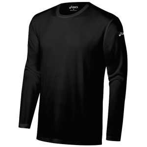 ASICS® Ready-Set Long Sleeve T-Shirt - Men's - Black