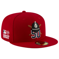 New Era MLB 59Fifty London Series Player Cap - Men's -  Mookie Betts - Boston Red Sox - Red