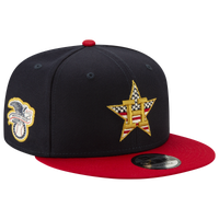 New Era MLB 9fifty July 4th Snapback Cap - Men's - Oakland Athletics - Navy