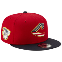 New Era MLB 9fifty July 4th Snapback Cap - Men's - Cleveland Indians - Red