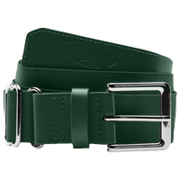 Under Armour Baseball Belt - Men's - Dark Green / Dark Green