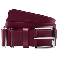 Under Armour Baseball Belt - Men's - Maroon / Maroon