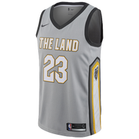 45762d89f13 Nike NBA City Edition Swingman Jersey - Men's - Lebron James - Cleveland  Cavaliers - Silver