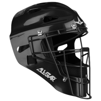 All Star Player's Series 2300SP Catcher's Head Gear - Black / Black