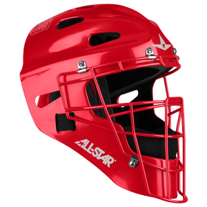 All Star MVP 2310 Catcher's Head Gear - Boys' Grade School - Scarlet
