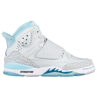 92c57d16df0 Jordan Son Of Mars - Girls  Grade School - White   Light Blue
