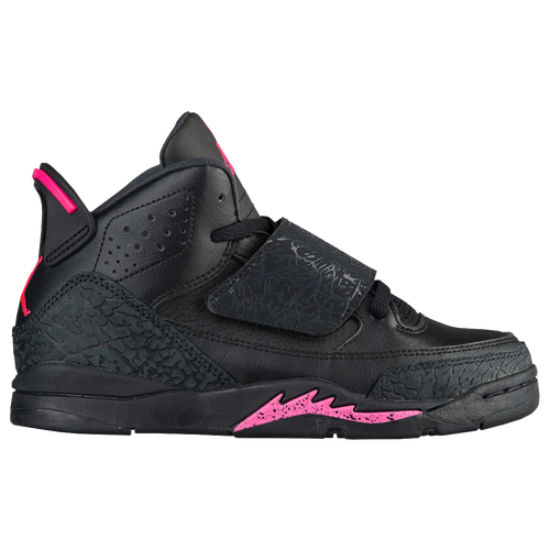 Jordan Son Of Mars - Girls' Preschool - Black / Pink