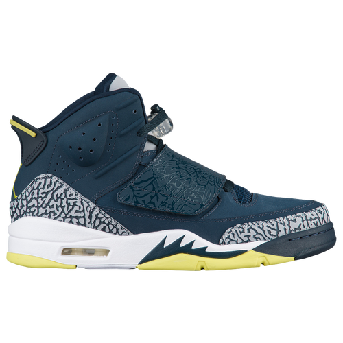 Jordan Son of Mars - Men's - Basketball - Shoes - Armory Navy/Electro  Lime/White/Wolf Grey