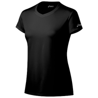ASICS® Ready-Set Short Sleeve T-Shirt - Women's - All Black / Black