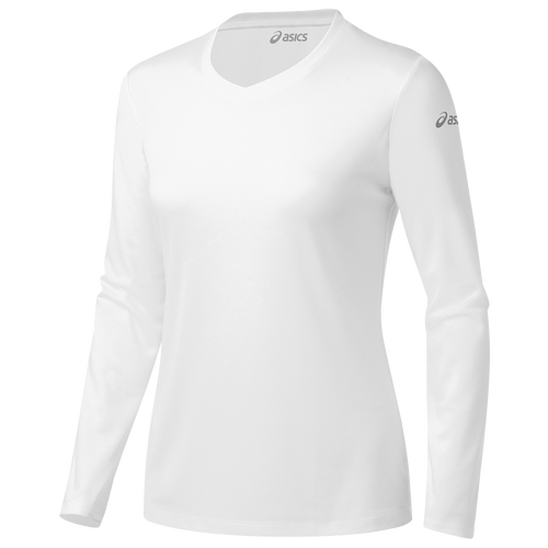 ASICS? Ready-Set Long Sleeve T-Shirt - Women's Running - White 123301