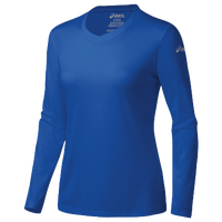 ASICS® Ready-Set Long Sleeve T-Shirt - Women's - Blue / Blue