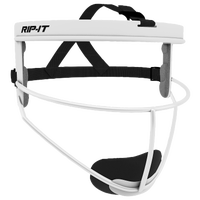 RIP-IT Defensive Face Guard - Grade School - White / Black