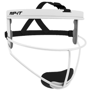 RIP-IT Defensive Face Guard - Grade School - White
