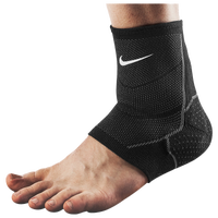 Nike Pro Knit Ankle Sleeve - Black / White