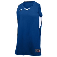 Under Armour Team Fury Jersey - Boys' Grade School - Blue / White