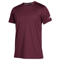 adidas Team Clima Tech T-Shirt - Men's - Maroon