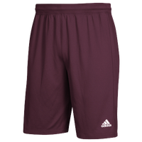 adidas Team Clima Tech 2-Pocket Shorts - Men's - Maroon / White