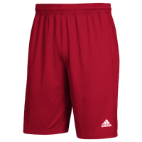 adidas Team Clima Tech 2-Pocket Shorts - Men's - Red / White